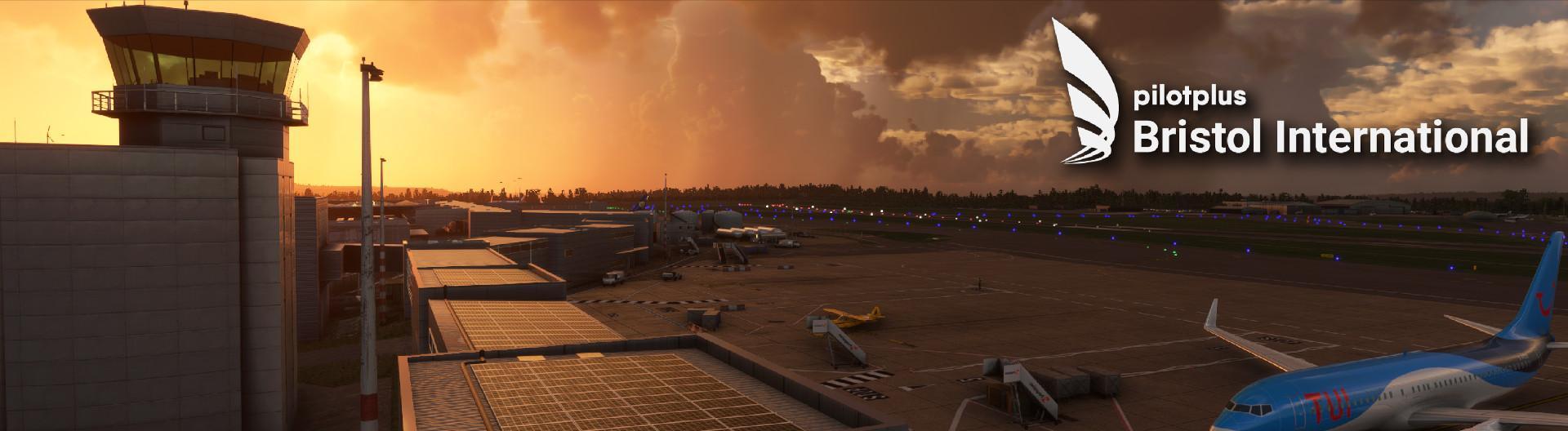 Image of Bristol Airport for Microsoft Flight Simulator by Pilot Plus